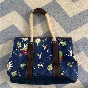 J. Crew Nautical Tote